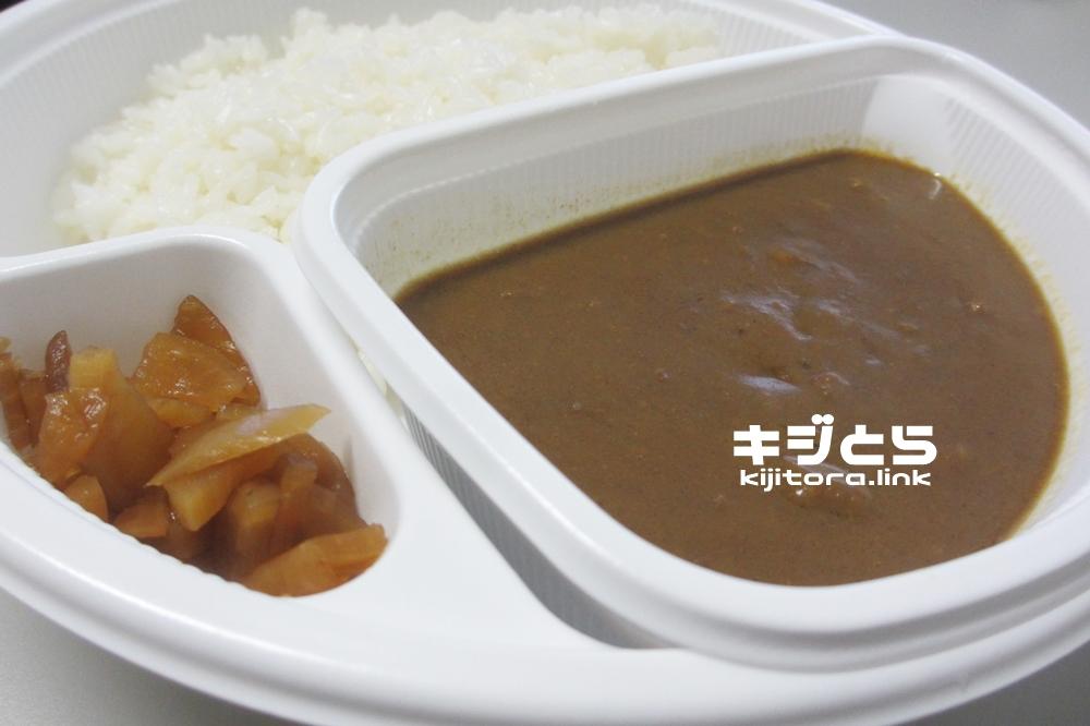 CoCo壱番屋ビーフカレー蓋オープン2