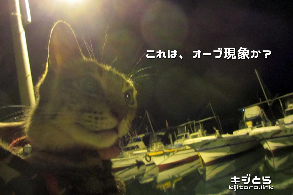 2016-07-06 夜の海で撮影したオーブ現象