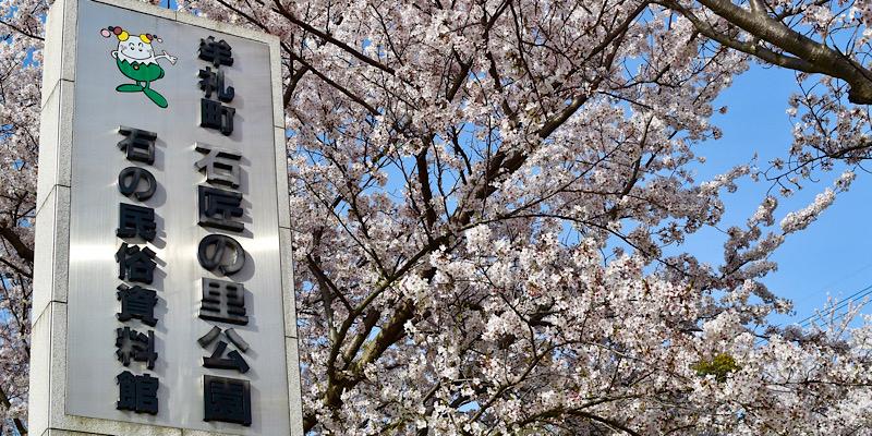 牟礼町 石匠の里公園の桜