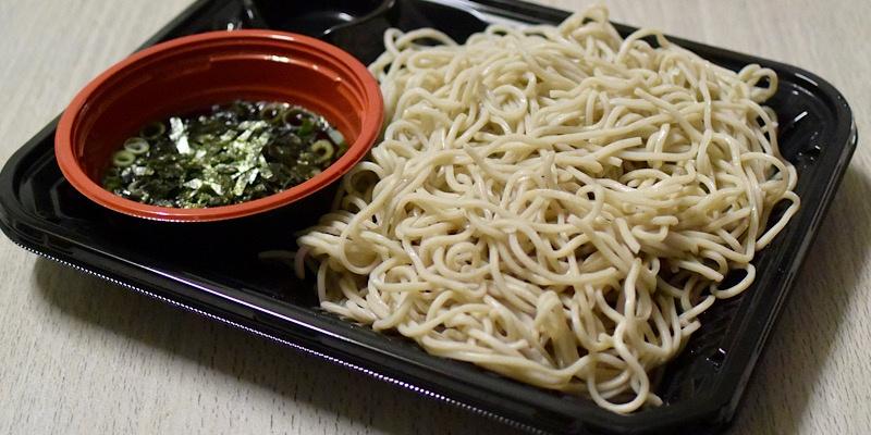 マルナカのこだわりざる蕎麦 (5)