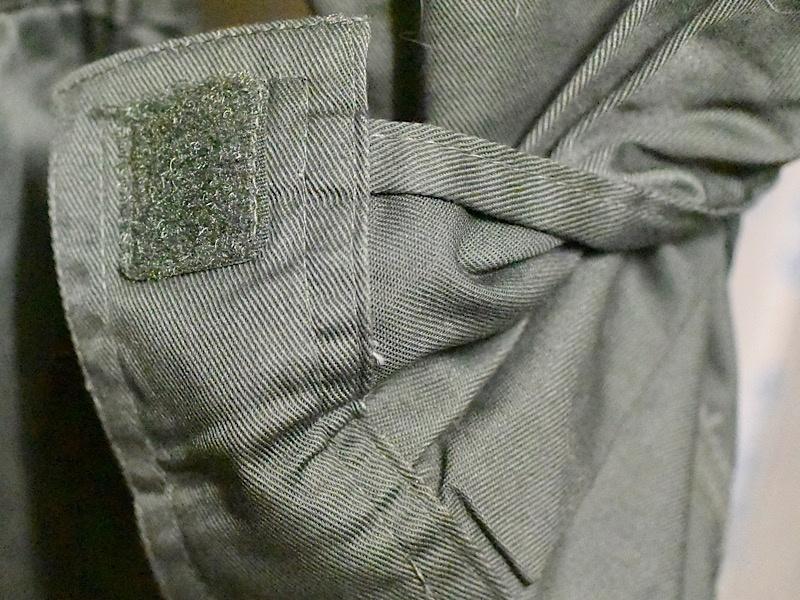 ワークマン 綿混腰伸びツナギ(品番WM3406)袖裏生地